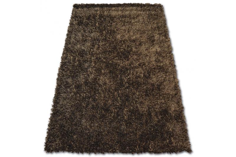 Teppich SHAGGY LILOU braun