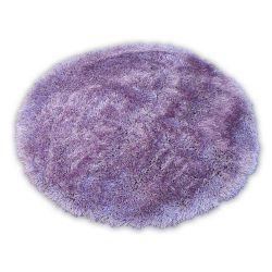 Teppich LOVE SHAGGY kreis modell 93600 violett