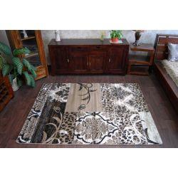 Teppich ALMIRA 9900 dunkelbraun
