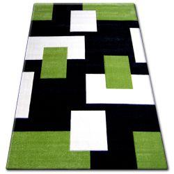 Teppich PILLY 7778 - schwarz/grun