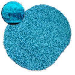 Teppich oval SHAGGY GALAXY 9000 aqua