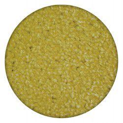 Teppich rund ETON gelb