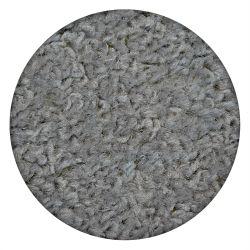 Teppich rund ETON silber