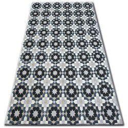 Teppich LISBOA 27206/356 Blumen Grau