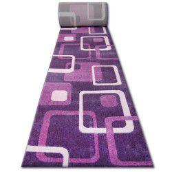 Läufer HEAT-SET FRYZ FOCUS - F240 veilchen QUADRATE violett