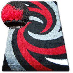 Teppich SHAGGY VERONA B058 schwarze/rot
