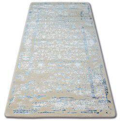 Teppich ACRYL MANYAS 0920 Blau/Elfenbein