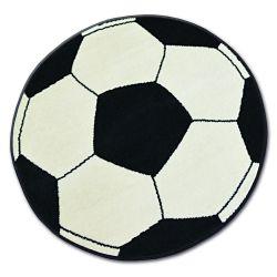 Teppich BCF BASE Ball Creme / Schwarz 3943