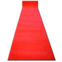 Läufer SKETCH rot - GLATT - zur Kirche, für die Hochzeit