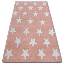 Teppich SKETCH - FA68 Rosa/Sahne - Sterne