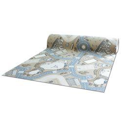 Antirutsch Teppichboden für Kinder STREET beige