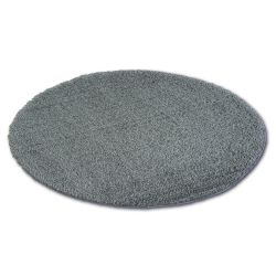 Teppich Kreis SHAGGY MICRO anthrazit