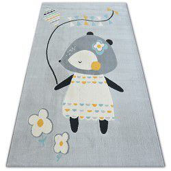 Teppich PASTEL 18403/052 - Maus Grau