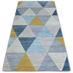 Teppich NORDIC Dreiecke grau/creme G4580