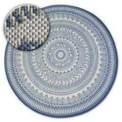 Teppich kreis FLAT 48695/591 - farbiges Glas