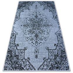 Teppich BCF BASE VINTEGE 3971ROSETTE grau/schwarz