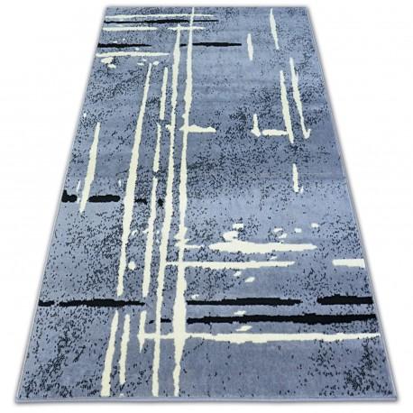 Teppich BCF BASE FUZZY 3909 LINIEN grau/schwarz