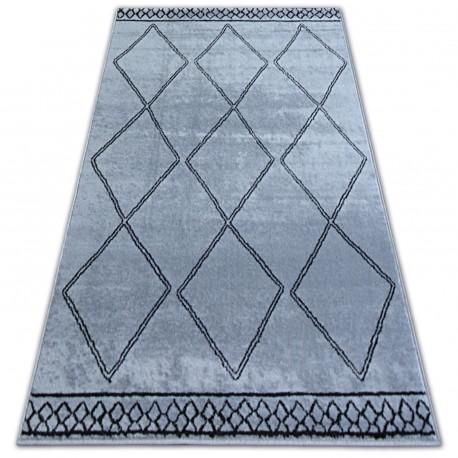Teppich BCF BASE ETNO 3964 DIAMANTY grau/schwarz