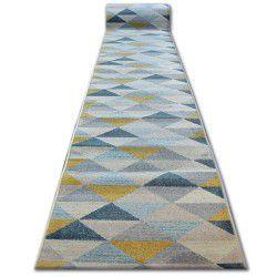 Läufer NORDIC Dreiecke grau/creme G4580