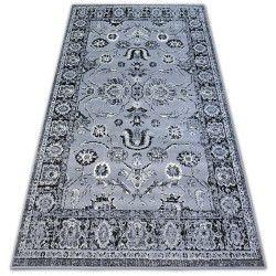 Teppich BCF BASE CLASSIC 3845 ROSETTE grau/schwarz