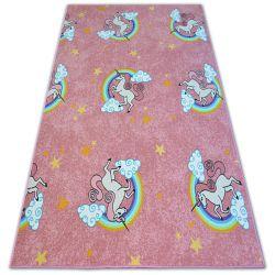 Teppich für Kinder UNICORN rosa
