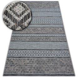 Teppich SISAL LOFT 21118 BOHO elfenbein/silber/grau
