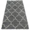 Teppich SHAGGY GALAXY - 8175 grau Trellis