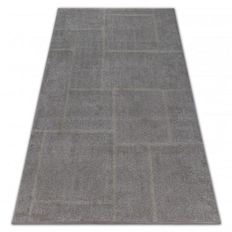 Teppich SOFT 8031 VIERECKE braun / beige
