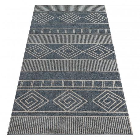 Teppich SOFT 8040 AZTEC BOHO grau
