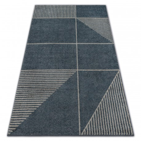 Teppich SOFT 8043 MODERNE ETHNO grau