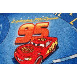 Teppichboden DISNEY CARS blau
