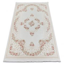 Teppich ACRYL ERCIYES 8702 Blumen rosa
