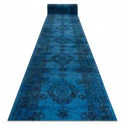 Läufer VINTAGE 22206043 Rosette blau