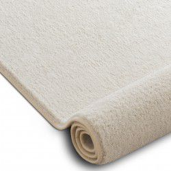 Teppichboden VELVET MICRO creme 031 eben, glatt, einfarbig