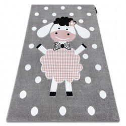 Kinderteppich PETIT DOLLY grau