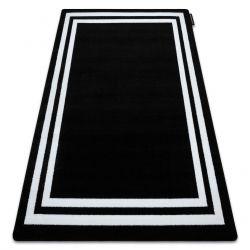 Teppich HAMPTON Rahmen schwarz