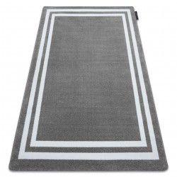 Teppich HAMPTON Rahmen grau