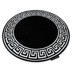 Teppich HAMPTON Grecos Kreis schwarz