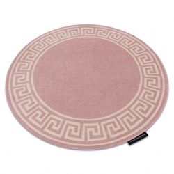 Teppich HAMPTON Grecos Kreis rosa