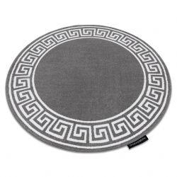 Teppich HAMPTON Grecos Kreis grau