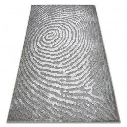 Teppich ACRYL YAZZ W8535 STUMPF BAUMRING grau