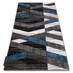 Teppich ALTER Bax Streifen blau