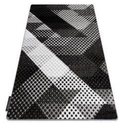 Teppich INTERO BALANCE 3D Punkte grau