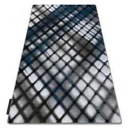 Teppich INTERO REFLEX 3D Gitter blau