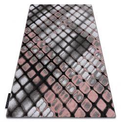 Teppich INTERO REFLEX 3D Gitter rosa