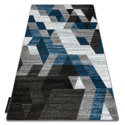 Teppich INTERO TECHNIC 3D Diamanten Dreiecke blau