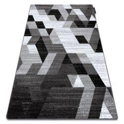 Teppich INTERO TECHNIC 3D Diamanten Dreiecke grau