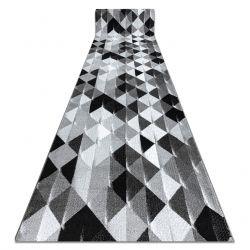 Läufer INTERO PLATIN 3D Dreiecke grau
