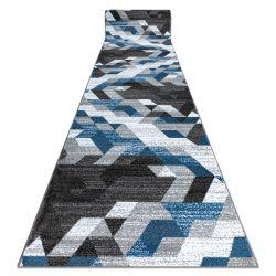 Läufer INTERO TECHNIC 3D Diamanten Dreiecke blau