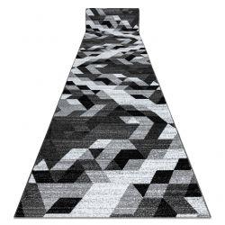 Läufer INTERO TECHNIC 3D Diamanten Dreiecke grau
